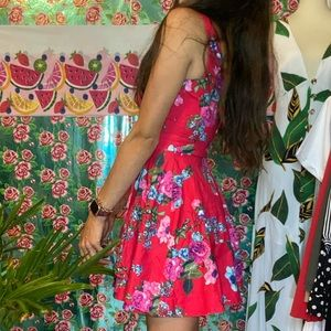 Speechless Fit and Flare Floral Mini